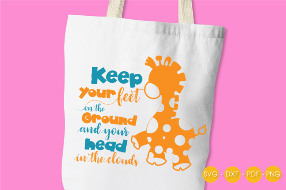 Keep Your Head in the Clouds Graphic Crafts By PrettyCuttables - Image 3