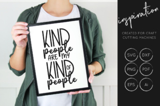 Download Free Kind People Are My Kind Of People Svg Cut File Graphic By for Cricut Explore, Silhouette and other cutting machines.