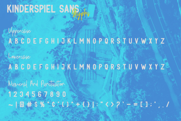 Print on Demand: Kinderspiel Duo Display Font By youthlabs - Image 16