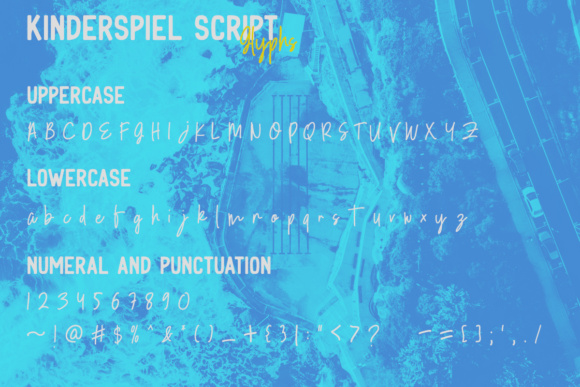 Print on Demand: Kinderspiel Duo Display Font By youthlabs - Image 17