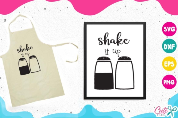 Kitchen Bundle Graphic Objects By Cute files - Image 7