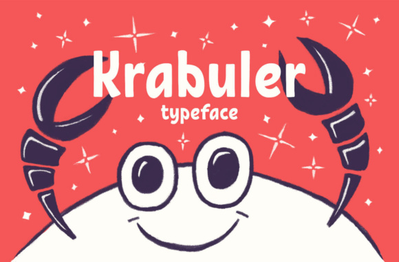 Print on Demand: Krabuler Display Font By Creative Fabrica Freebies - Image 1