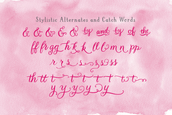 LBPie Font By Laura Bolter Design Image 2
