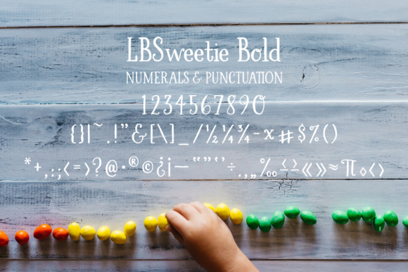 Print on Demand: LBSweetie Bold Script & Handwritten Font By Laura Bolter Design - Image 4