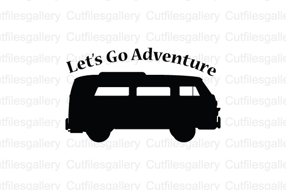 Download Free Lets Go Adventure Cut File Graphic By Cutfilesgallery Creative for Cricut Explore, Silhouette and other cutting machines.