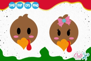 Download Free Little Turkey Turkey Face Thanksgiving Svg Fall Yall Svg for Cricut Explore, Silhouette and other cutting machines.