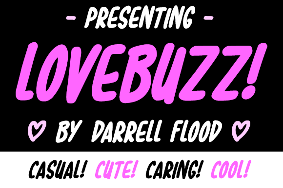 Print on Demand: Lovebuzz Script & Handwritten Font By Dadiomouse