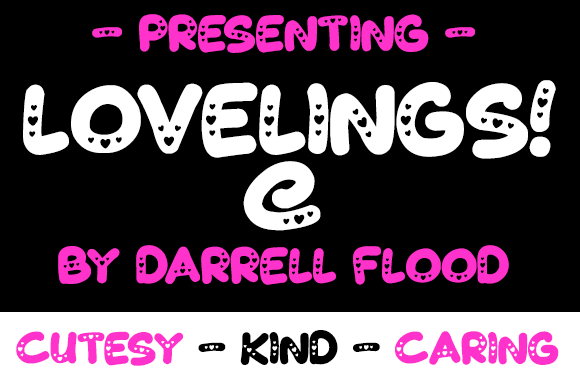 Print on Demand: Lovelings Display Font By Dadiomouse - Image 1