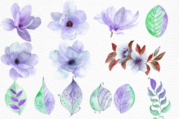 Lue Wedding Flowers Clipart Graphic Illustrations By LeCoqDesign - Image 2