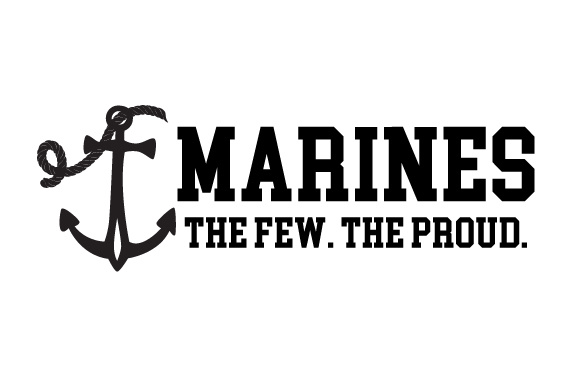 MARINES the Few. the Proud Military Craft Cut File By Creative Fabrica Crafts