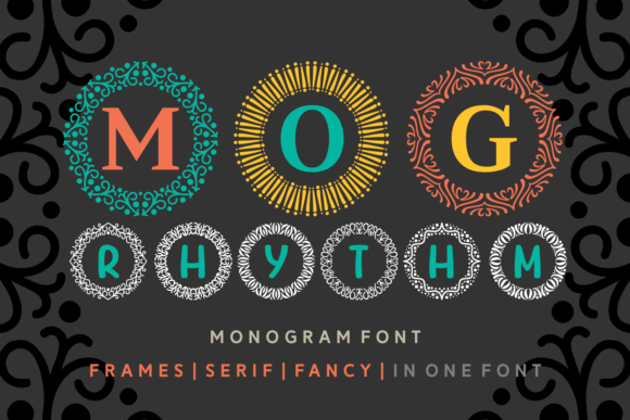 MOG Rhythm Display Font By Situjuh