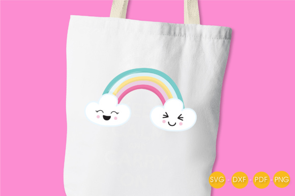 Magical Rainbow Graphic Crafts By PrettyCuttables - Image 3