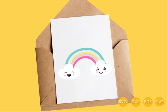 Magical Rainbow Graphic Crafts By PrettyCuttables - Image 4