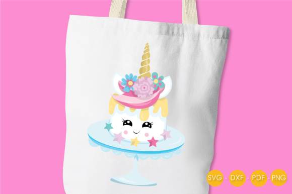 Magical Unicake Graphic Crafts By PrettyCuttables - Image 3