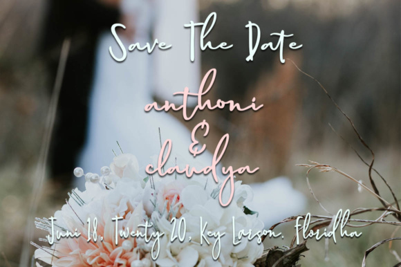 Print on Demand: Magnolia Hand Script & Handwritten Font By luckytype.font - Image 2
