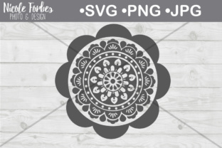 Download Free Mandala File Graphic By Nicole Forbes Designs Creative Fabrica for Cricut Explore, Silhouette and other cutting machines.