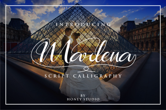 Print on Demand: Marlena Script & Handwritten Font By mukhlas.pemain