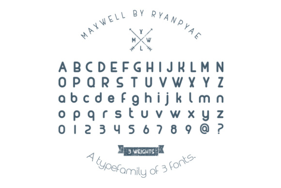 Print on Demand: Maxwell Sans Serif Font By Creative Fabrica Freebies - Image 2
