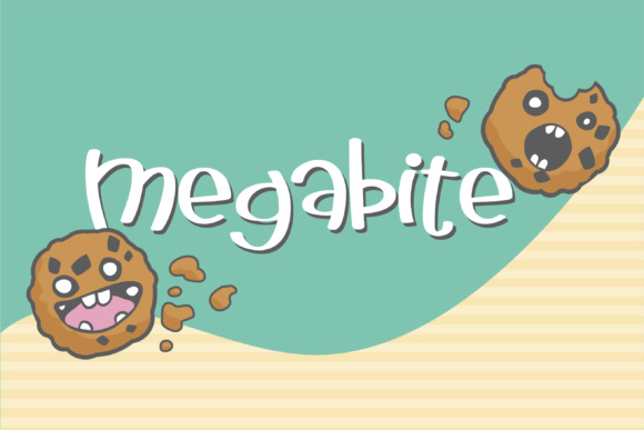 Print on Demand: Megabite Sans Serif Font By Illustration Ink