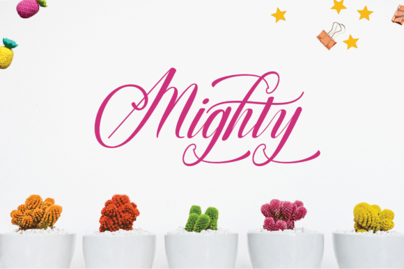 Print on Demand: Mighty Script & Handwritten Font By Rt Creative