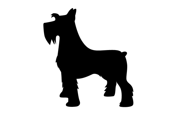 Download Free Miniature Schnauzer Shadow Design Svg Cut File By Creative for Cricut Explore, Silhouette and other cutting machines.