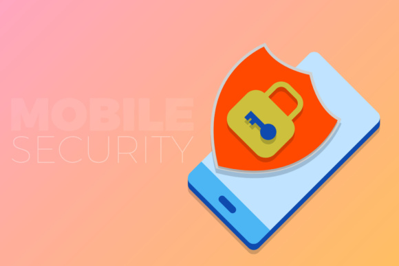 Mobile Security Graphic By KitCreativeStudio