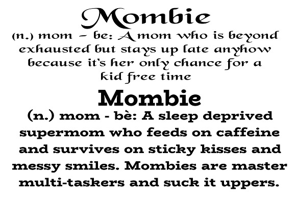 Mombie Graphic Crafts By Family Creations