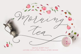 Morning Tea Script Font By Red Ink
