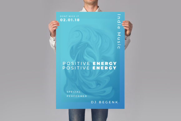 Music Poster Flyer Graphic Print Templates By TMint