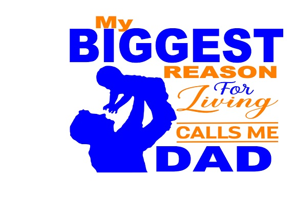 Download Free My Biggest Reason Calls Me Dad Graphic By Family Creations for Cricut Explore, Silhouette and other cutting machines.