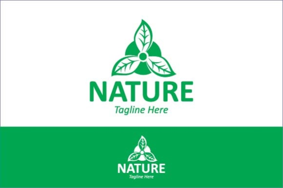 Nature Logo Template Graphic Logos By emnazar2009
