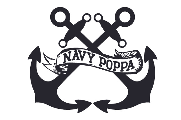 Navy Poppa Military Craft Cut File By Creative Fabrica Crafts