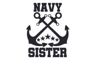 Navy Sister Craft Design By Creative Fabrica Crafts