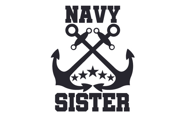 Navy Sister Military Craft Cut File By Creative Fabrica Crafts