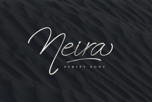 Print on Demand: Neira Script Script & Handwritten Font By e.myself12 - Image 1