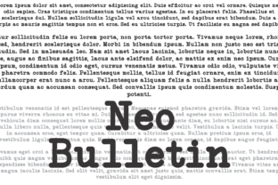 Print on Demand: Neo Bulletin Family Serif Font By Intellecta Design