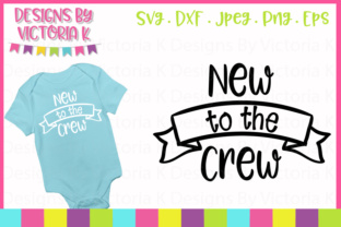 Download Free New To The Crew Svg Graphic By Designs By Victoria K Creative for Cricut Explore, Silhouette and other cutting machines.