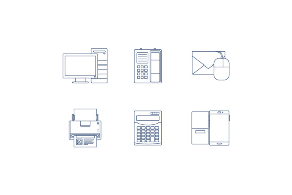 Office Icons Graphic Icons By KitCreativeStudio
