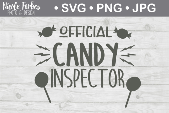 Download Free Official Candy Inspector Halloween Svg Cut File Graphic By for Cricut Explore, Silhouette and other cutting machines.