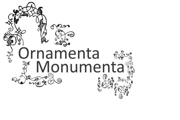 Print on Demand: Ornamenta Monumenta Dingbats Font By Intellecta Design - Image 3