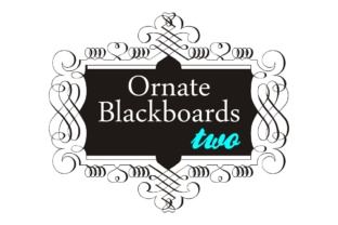 Ornate Blackboards Family Font By Intellecta Design
