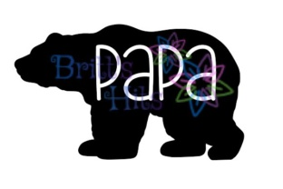 Download Free Papa Bear Graphic By Britt S Hits Creative Fabrica SVG Cut Files