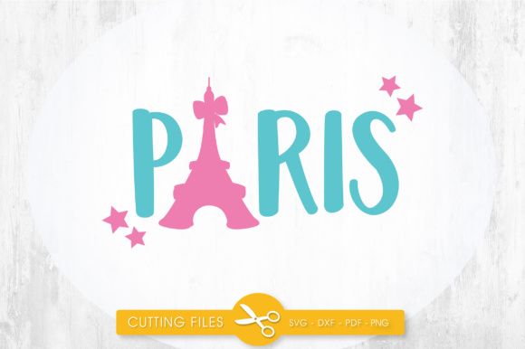 Paris Stars Graphic Crafts By PrettyCuttables