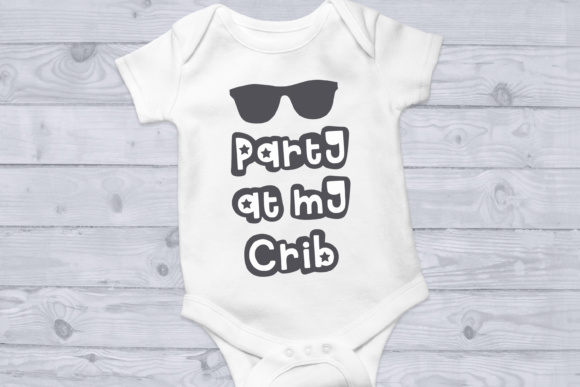 Download Free Party At My Crib Svg Cut File Graphic By Nicole Forbes Designs for Cricut Explore, Silhouette and other cutting machines.