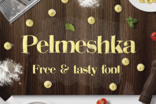 Pelmeshka Font By Creative Fabrica Freebies