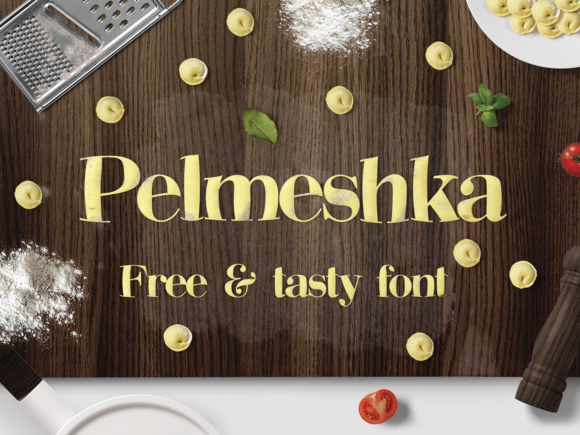 Print on Demand: Pelmeshka Sans Serif Font By Creative Fabrica Freebies - Image 1
