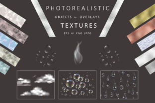 Photorealistic Objects, Textures. Graphic By Design Work