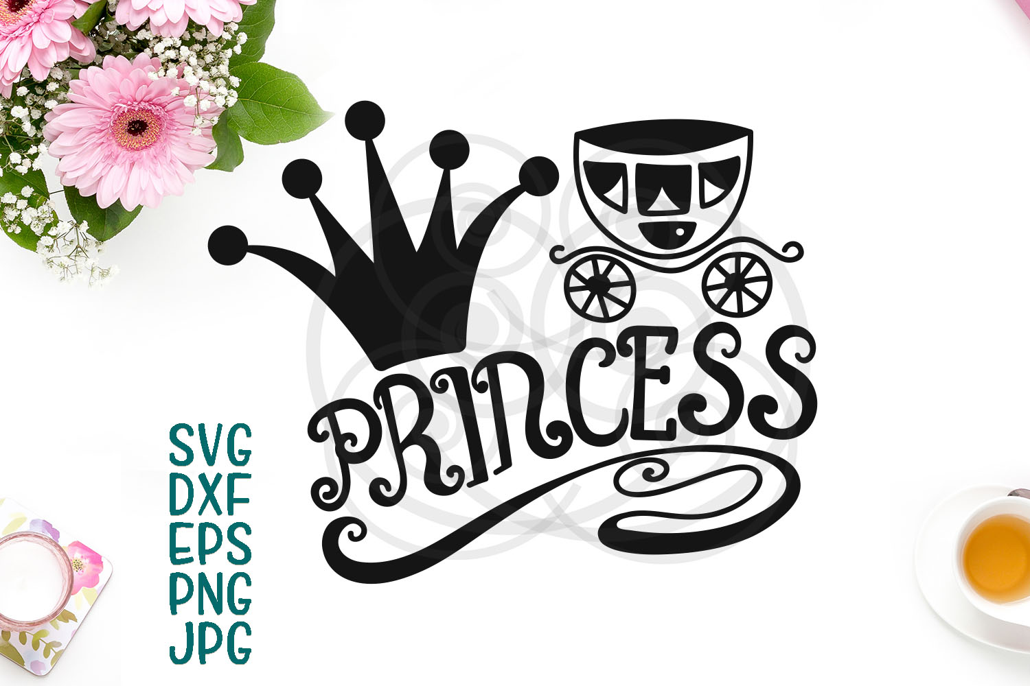 Download Free Princess Graphic By Cornelia Creative Fabrica for Cricut Explore, Silhouette and other cutting machines.