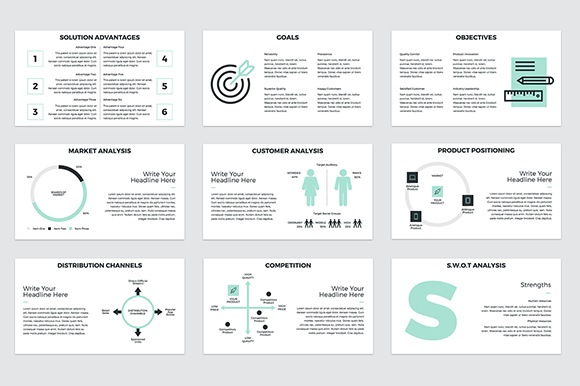 Project Proposal Powerpoint Template Graphic By Jetztemplates
