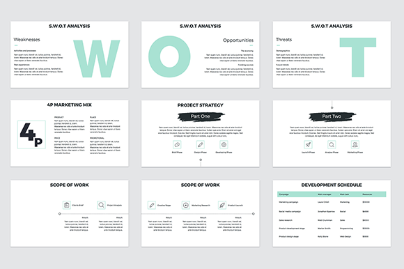 Download Free Project Proposal Powerpoint Template Graphic By Jetztemplates SVG Cut Files